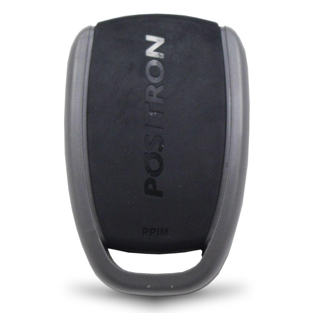 Controle Remoto Presença Alarme Positron DPN72 4 Botões Led Vermelho EX FX PX TX DuoBlock G6 G7 G8