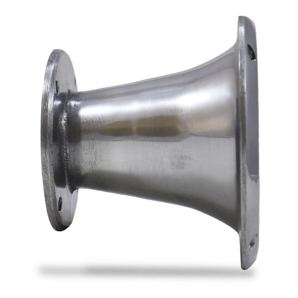 Corneta Cone Alumínio HL-1450 Curta Parafuso Cromada
