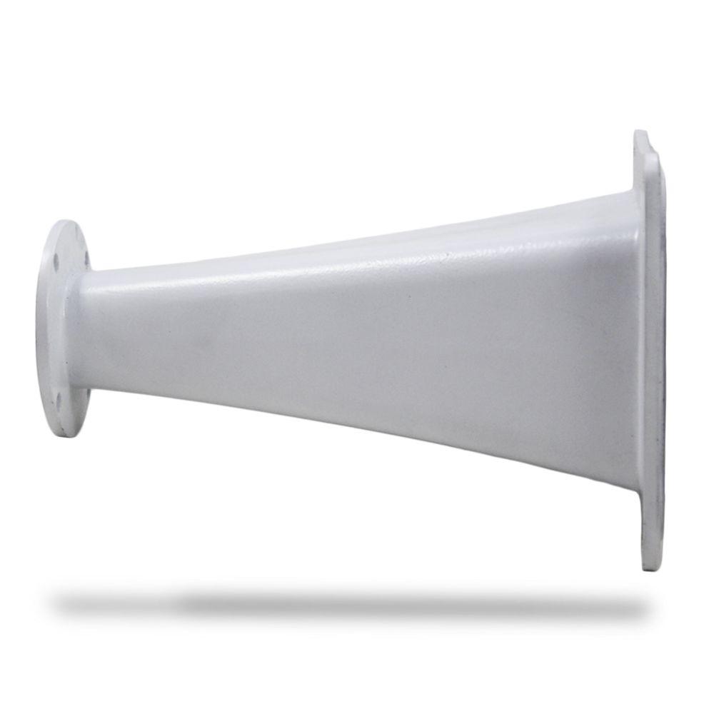 Corneta Cone Alumínio HL-2550 Longo Boca Quadrada