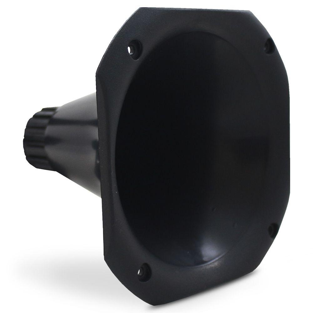 Corneta Cone Curto LC 14.50 Permak Plástico Preto