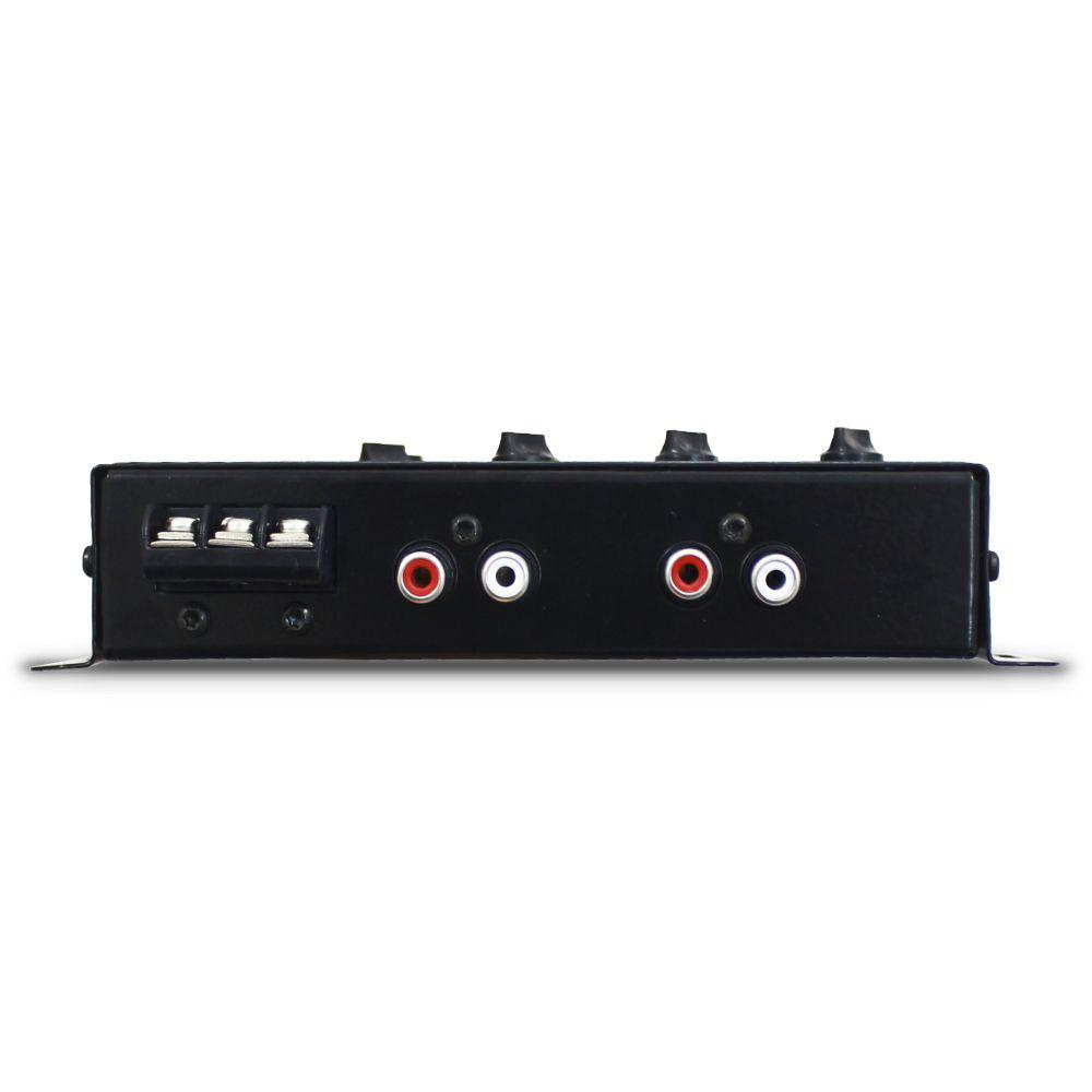 Crossover Automotivo Taramps 4 Vias CRX-4 Digital 12v Mesa Som Bass Boost Level