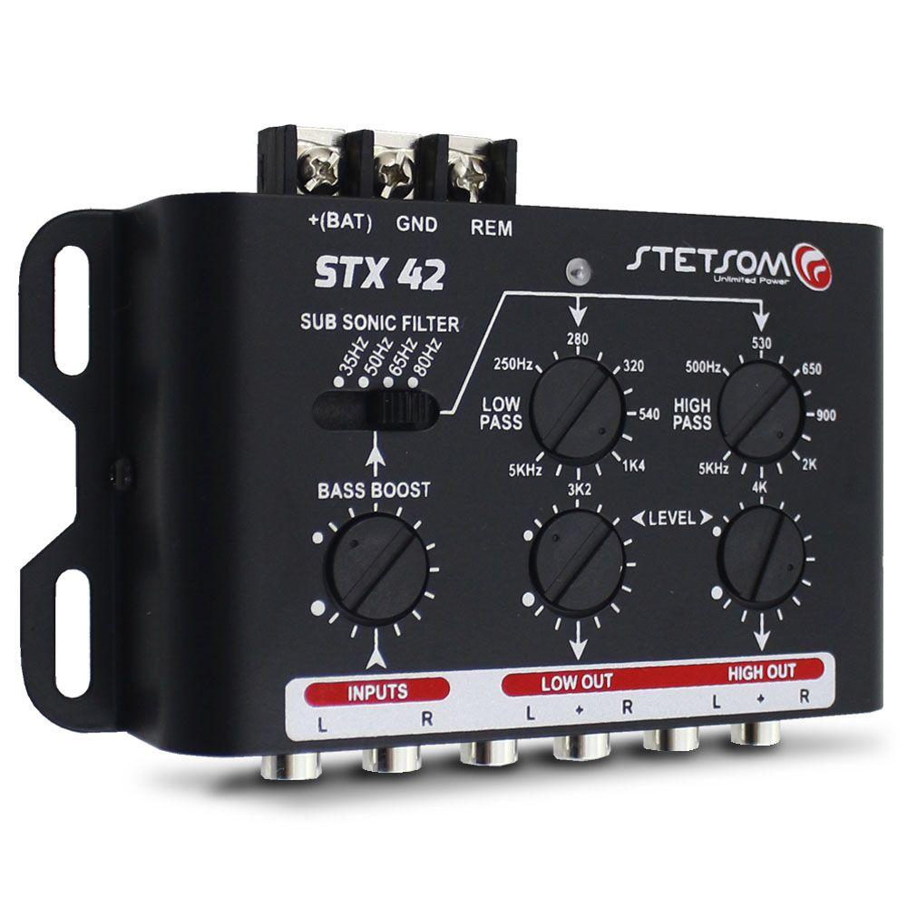 Crossover Automtoivo Stetsom 2 Vias STX-42 Digital Mesa