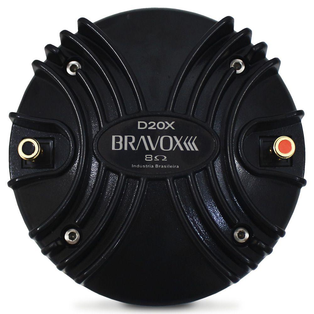 Driver Bravox 100w Rms D20-X 8 Ohms Fenólico Profissional 200w Pico Peça