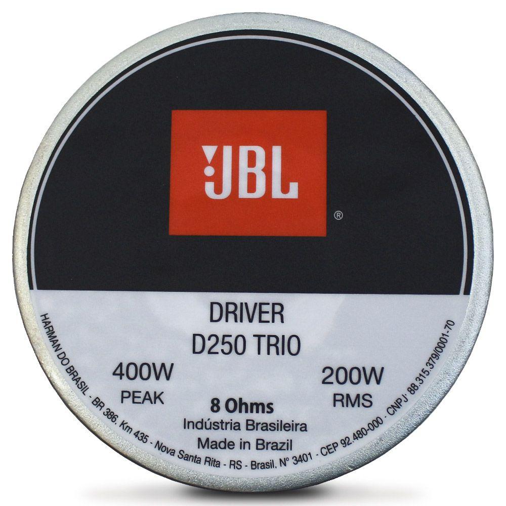 Driver Jbl Selenium D250 TRIO 200 Rms 8 Ohms Fenólico