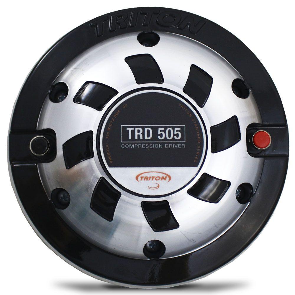 Driver Triton TRD-505 160W Rms 8 Ohms Fenólico 4 Polegadas Profissional Compressão