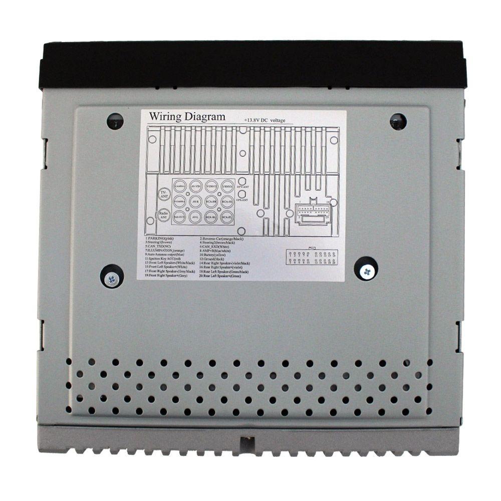 Dvd Player Automotivo 2 Din Tela 7 Pol Ray X Bluetooth