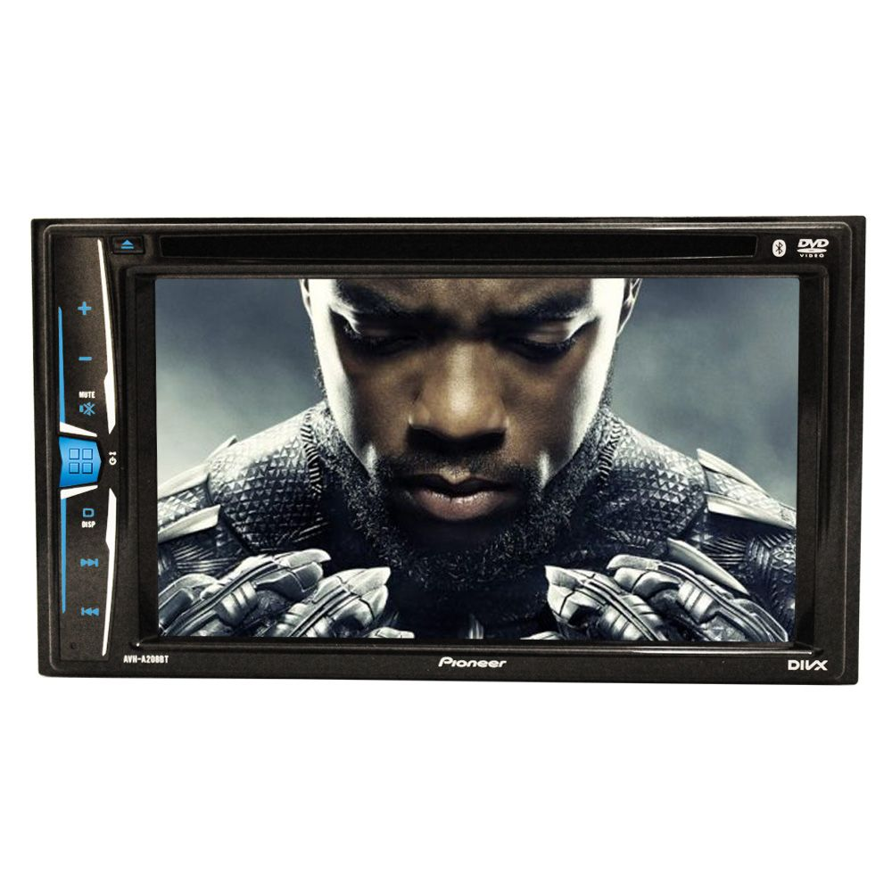 e71f1a1a3 Dvd Player Pioneer AVH-A208BT 2 Din 6.2 pol Bluetooth Usb - Amo Carro ...