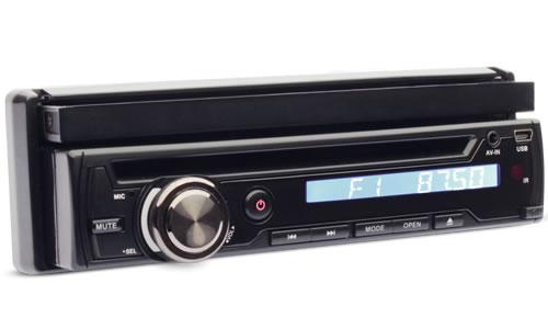Dvd Player Automotivo Dazz 1 Din tela 7.0 Retrátil Tv Digital Bluetooth Usb Sd Card