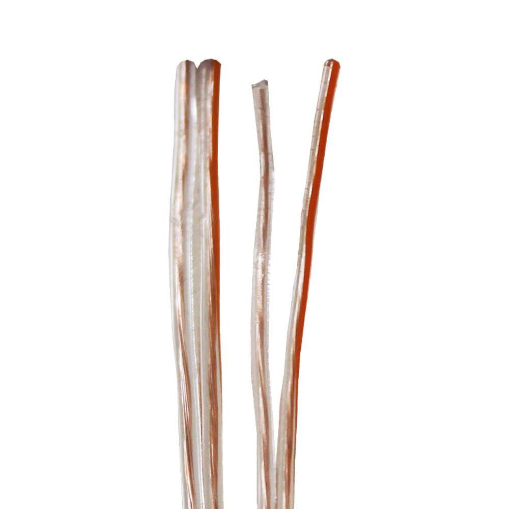 Fio Paralelo 2x0,75 mm 2x18 Cristal Fox Cabos 100 metros