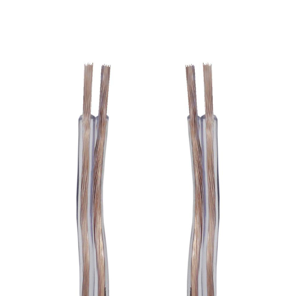 Fio Paralelo 2x2,50 mm 2x12 Cristal Permak 100 Metros