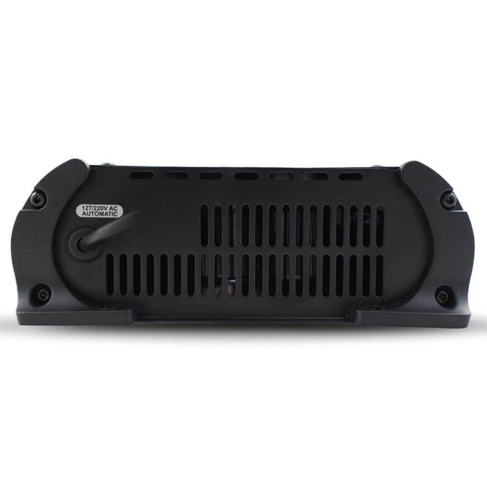 Fonte Automotiva Stetsom 60-a Infinite Bivolt Digital 12v Cooler Voltímetro Amperímetro Carregador Ajuste Tensão ABS