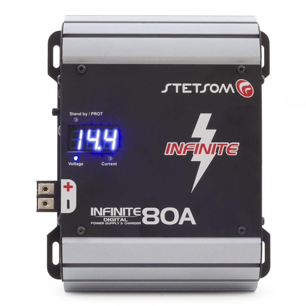 Fonte Automotiva Stetsom 80a Infinite 80 amperes