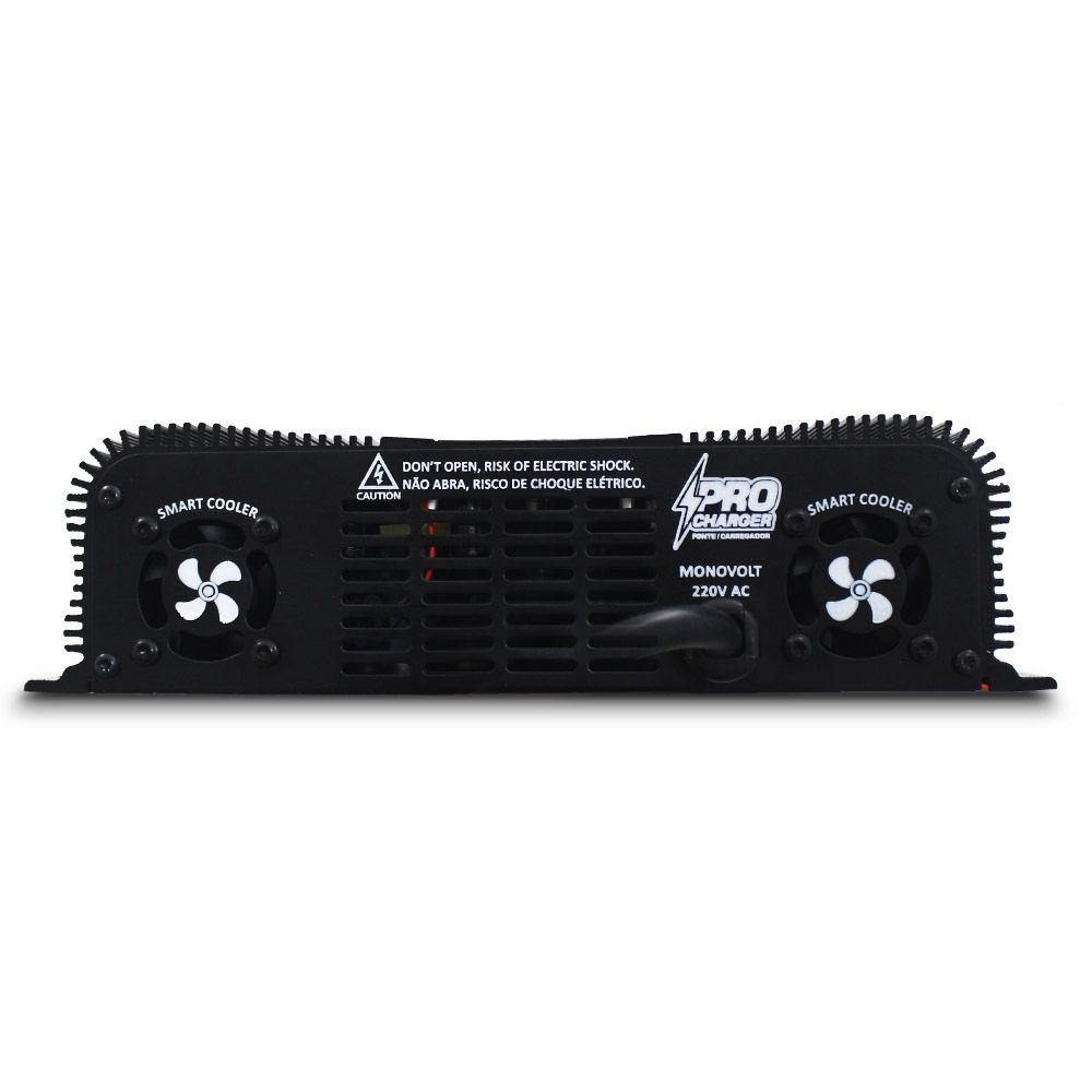 Fonte Automotiva Taramps 250-a Pro Charger Monovolt Digital 12v Smart Cooler Voltímetro Amperímetro Carregador