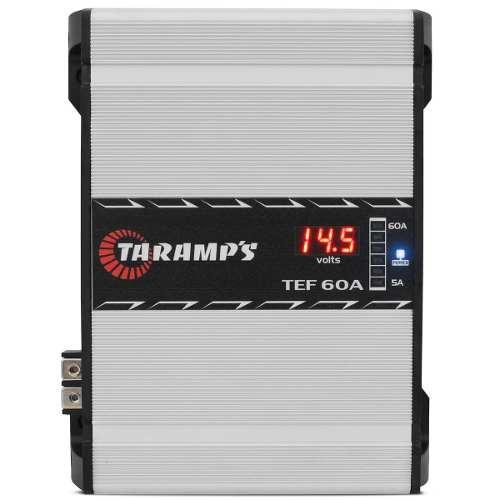 Fonte Automotiva Taramps 60 Amperes Tef60a Voltímetro