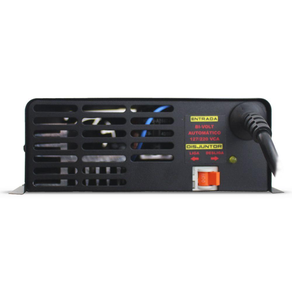 Fonte Automotiva Usina 120-a Bivolt Digital 12v Plus + Battery Meter Smart Cooler Carregador Ajuste Corrente Tensão