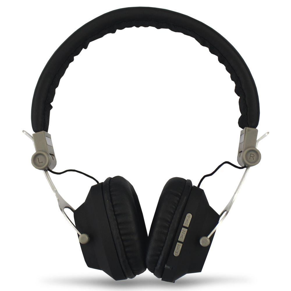Headphone Bomber QUAKE HB11 Fone Ouvido Bluetooth Acolchoado Cabo Auxiliar Destacável