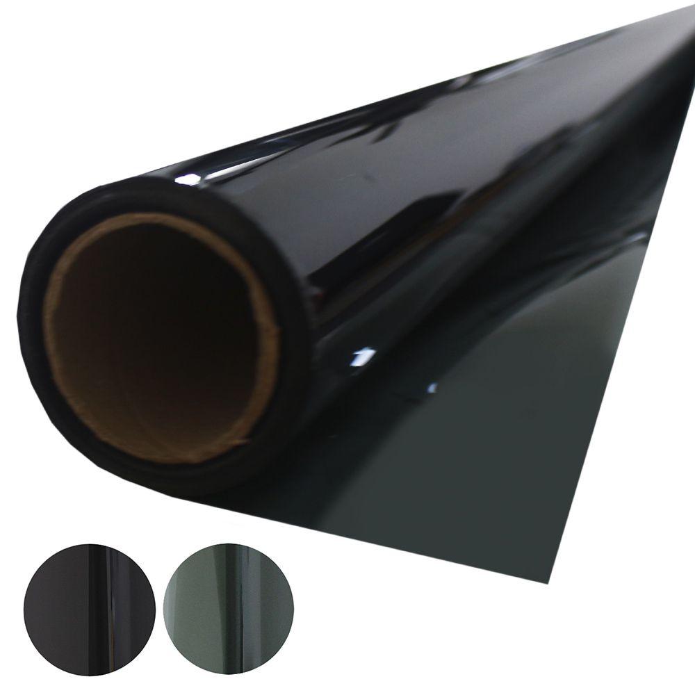 Insulfilm G35 Tintado Bobina 1,55 x 15 Metros Verde Grafite Solarium Rolo Película Automotiva Poliéster 35%