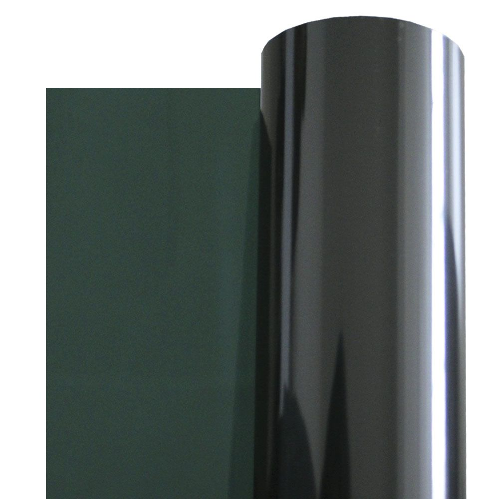 Insulfilm G5 Profissional Bobina 1,58 x 15 Metros Semi Refletivo Verde Grafite World Film Pelicula Automotiva