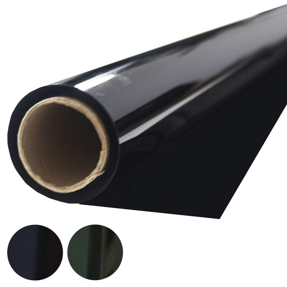 Insulfilm G5 Tintado Bobina 1,55 x 15 Metros Verde Grafite Solarium Rolo Película Automotiva Poliéster 5%