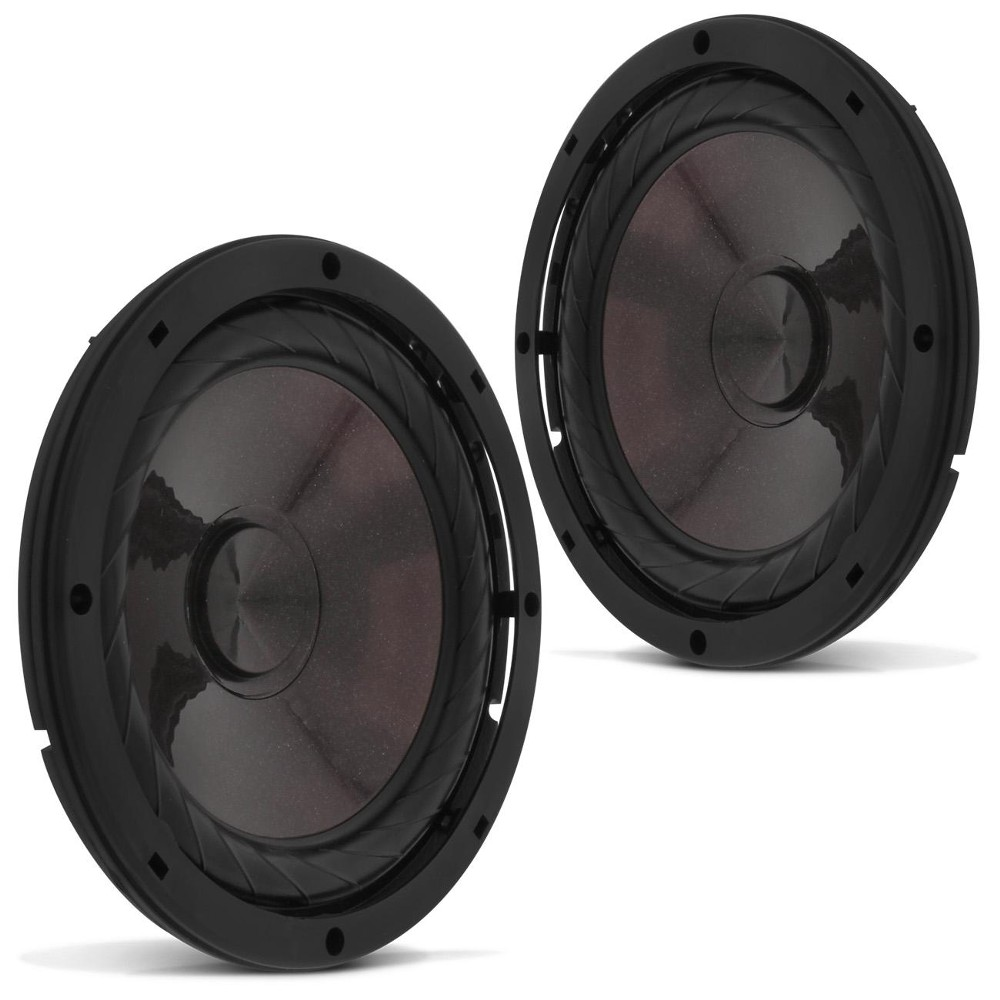 Kit 2 Vias Bravox 6 Polegadas CS60-P 120w Rms Par Alto Falante Mini Tweeter Painel Total 200w Rms