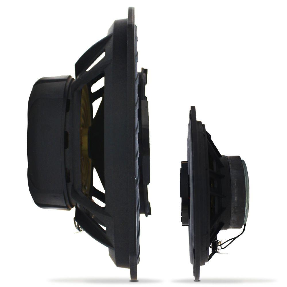 Kit Alto Falante 6 Pol 140w Rms TR6-P Triaxial 6x9 Pol 160w Rms B4X69-P Quadriaxial Bravox Kit Fácil Premium 300w Rms