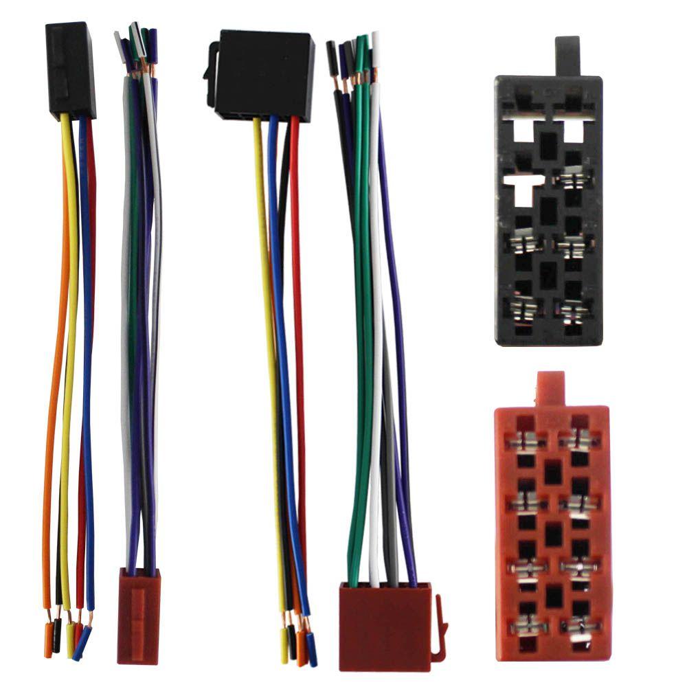 Kit Conector 16 Vias Fêmea Fic Preto Marrom 5 peças