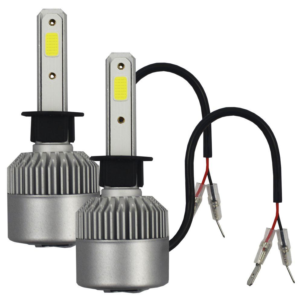 Kit Lampada Super Led Truk H1 H11 H16 H27 H3 H7 H8 HB3 HB4 6000k 8000 Lúmens 9v 12v 24v 48v 30w Ray X Bivolt IP68