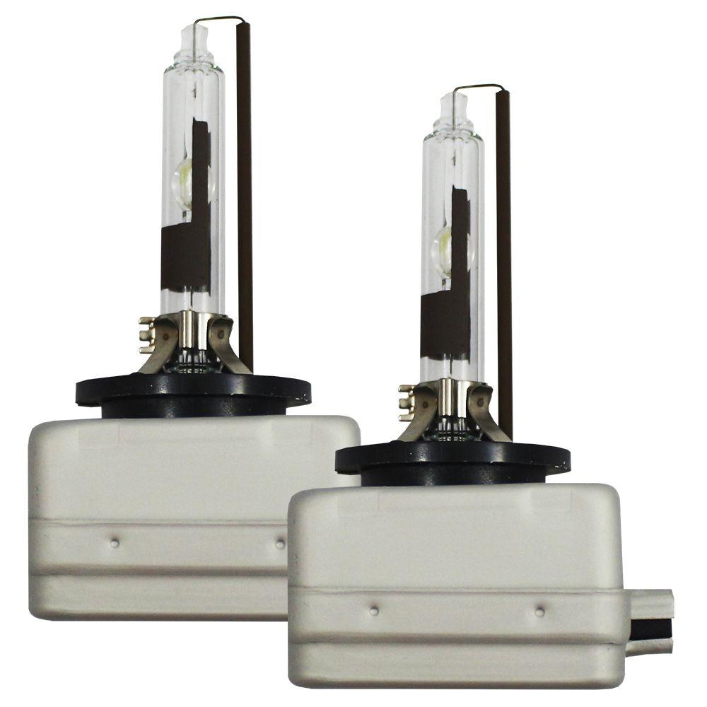 Kit Lampada Xenon D1R 12v 24v 5500k 35w Ray X Original Bivolt Reposição Par