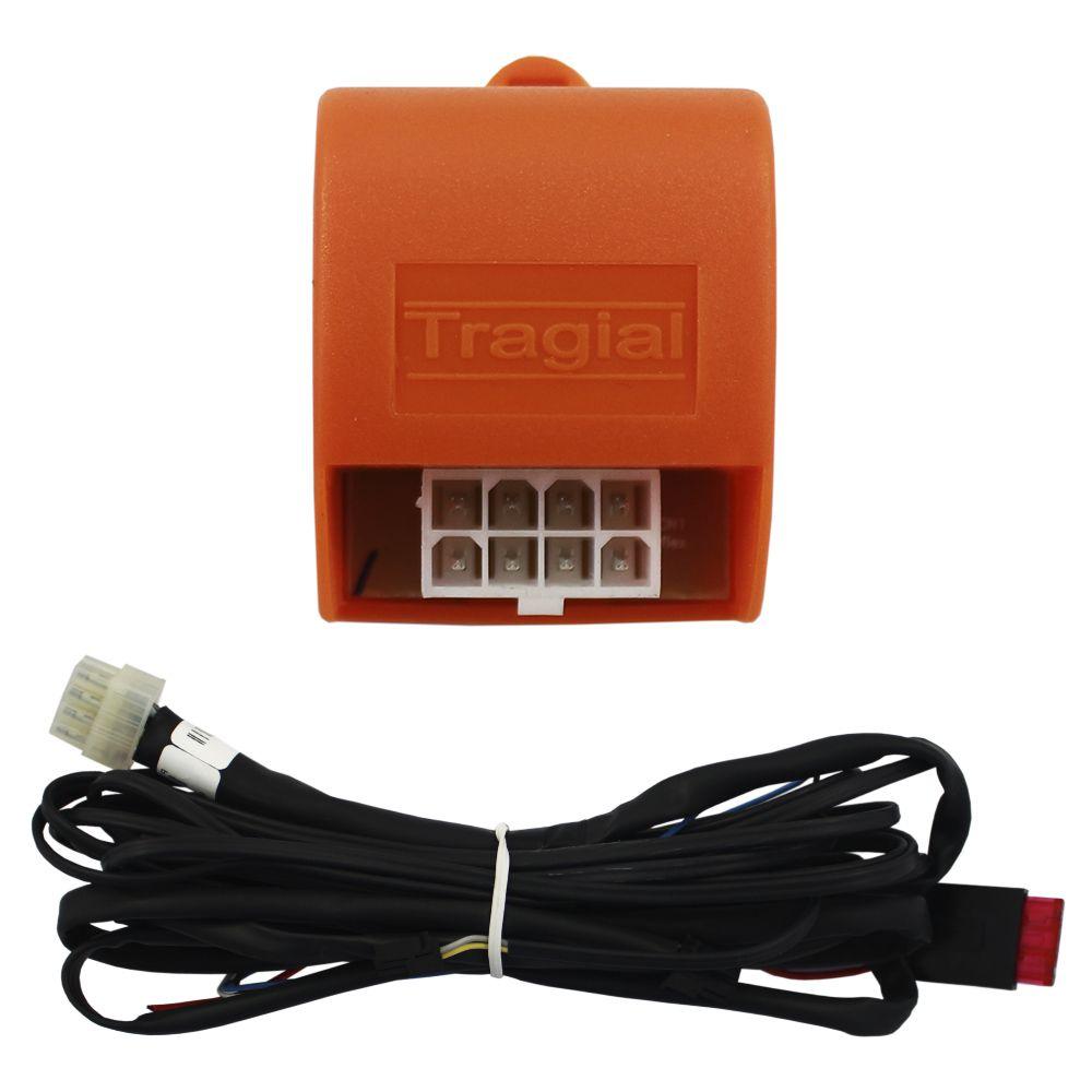 Kit Trava Elétrica Clio 1996 97 98 99 2000 A 04 05 06 07 08 09 10 A 17 18 2019 2 Portas Mono Tragial TRC2 Original 2P