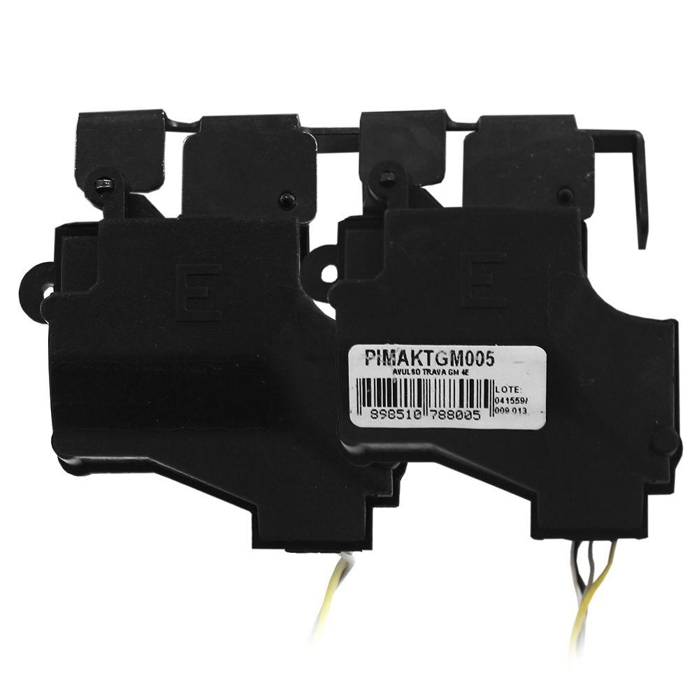 Kit Trava Elétrica March 2011 2012 2013 2014 2015 2016 2017 2018 2019 4 Portas Mono Tragial NI4 Original 4P