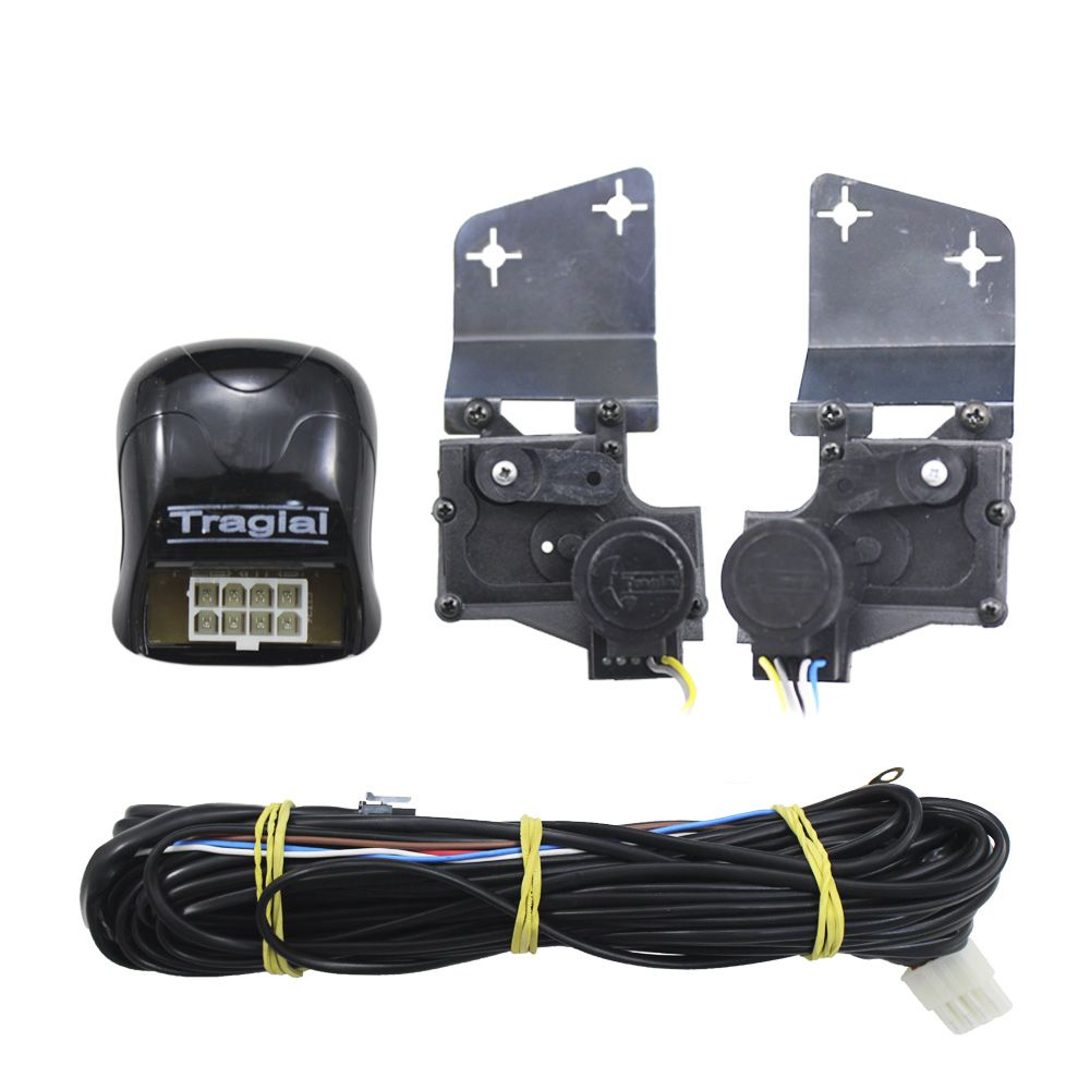 Kit Trava Elétrica S-10 2012 2013 2014 2015 2016 2017 2018 2019 2 Portas Mono Tragial GMS2 Original 2P