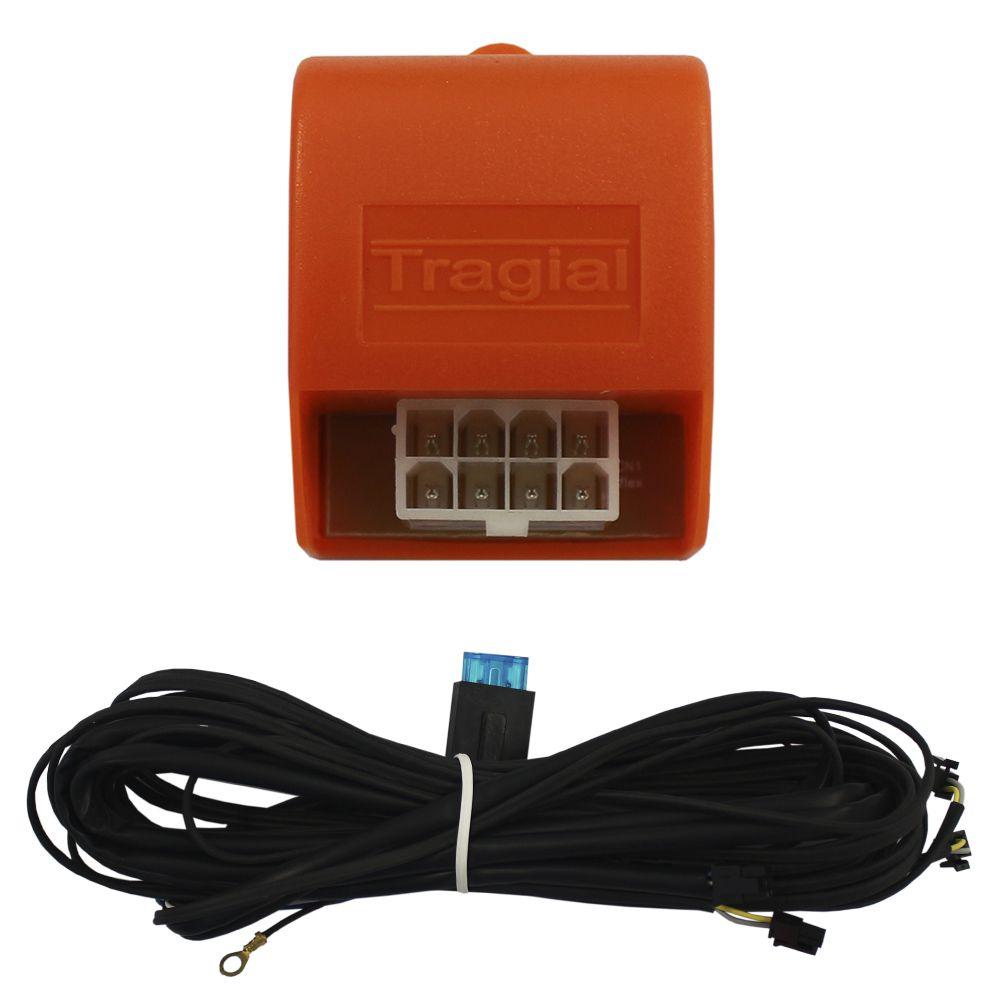 Kit Trava Elétrica S-10 2012 2013 2014 2015 2016 2017 2018 2019 4 Portas Mono Tragial GMS4 Original 4P