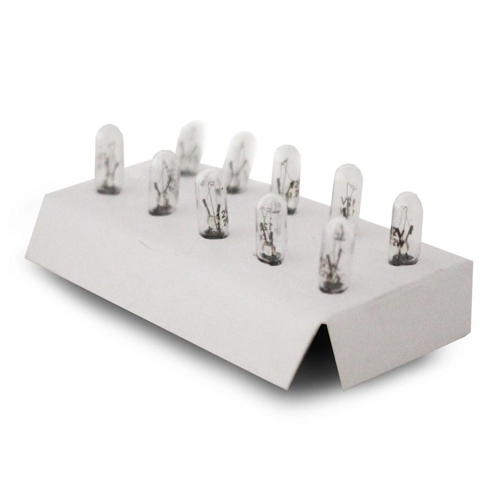 Lampada Incandescente 12v W2W Esmagadinha Painel Placa