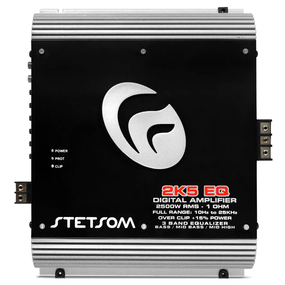 Módulo Amplificador Stetsom Vulcan 1 Canal 2k5-eq 2500 wrms 1 Ohms