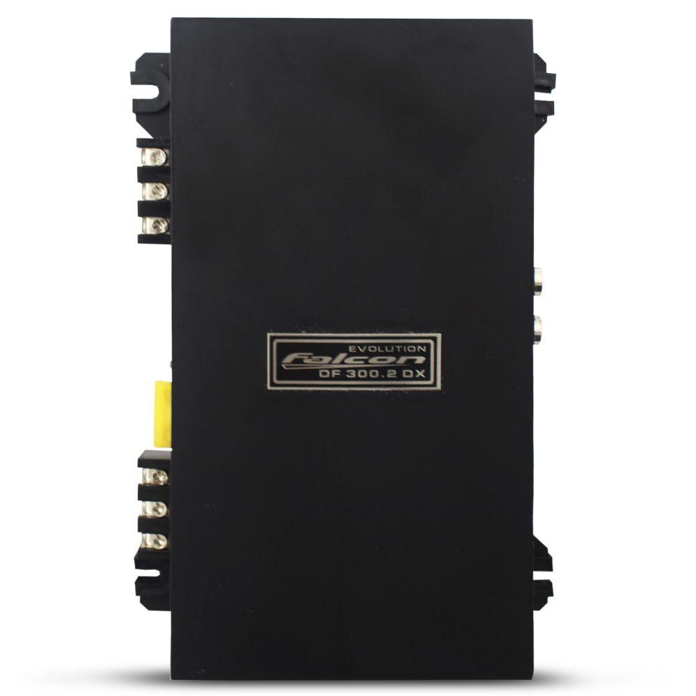 Modulo Amplificador Falcon 300 Rms DF-300.2DX Stereo Digital 2 Canais 2 Ohms Classe D Crossover Full Range Gain Control