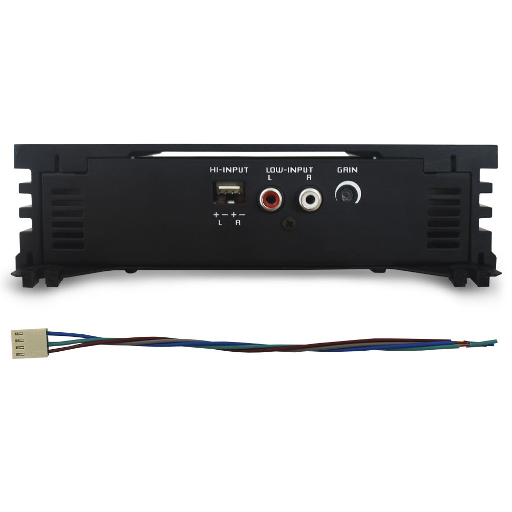 Módulo Amplificador Falcon 300 Rms DF-300.2DX Stereo Digital 2 Canais 2 Ohms Classe D Crossover Full Range Gain Control
