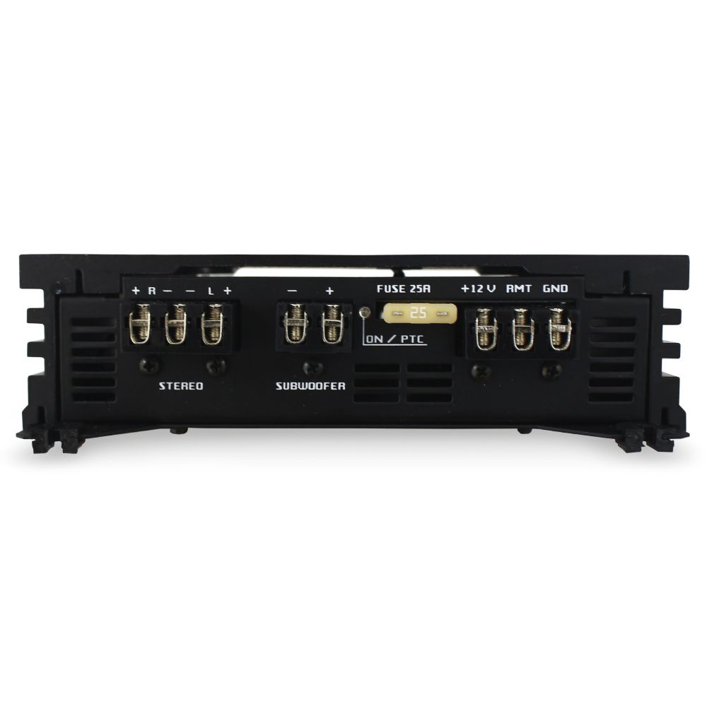 Modulo Amplificador Falcon 400 Rms HS-960DX Mono Stereo 3 Canais 2 Ohms Classe D Crossover Bass Boost Gain Control