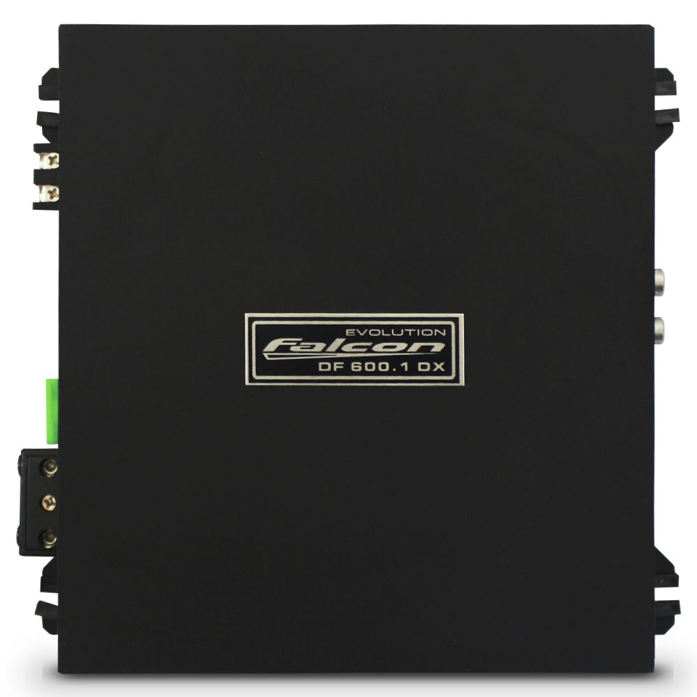 Modulo Amplificador Falcon 600 Rms DF-600.1DX Mono Digital 1 Canal 2 Ohms Classe D Crossover Gain Control