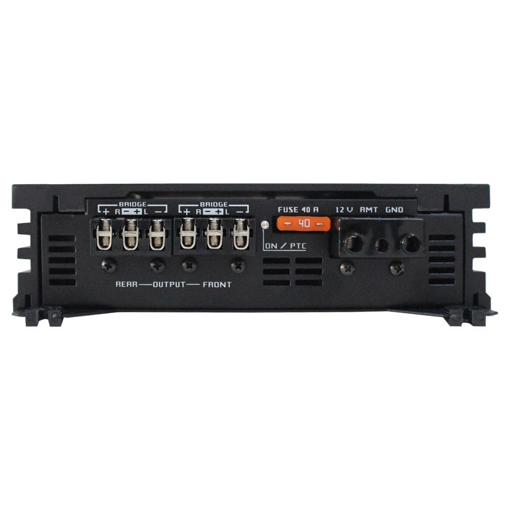 Modulo Amplificador Falcon 800 Rms DF-800.4D Stereo Digital 4 Canais 2 Ohms Classe D Crossover Bass Boost Gain Control