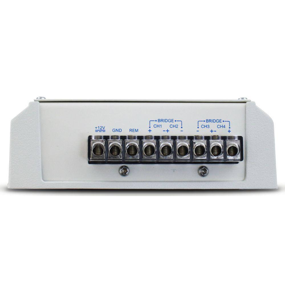 Modulo Amplificador Náutico Soundigital 400 Rms SD-400.4D MARINE Stereo Digital 4 Canais 2 Ohms Classe D Crossover