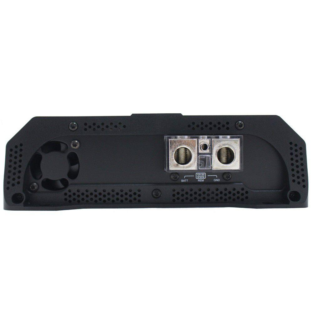 Modulo Amplificador Soundigital 8000 Rms SD-8000.1D Evo 2 Mono Digital 1 Canal 1 Ohms 2 Ohms Classe D Crossover