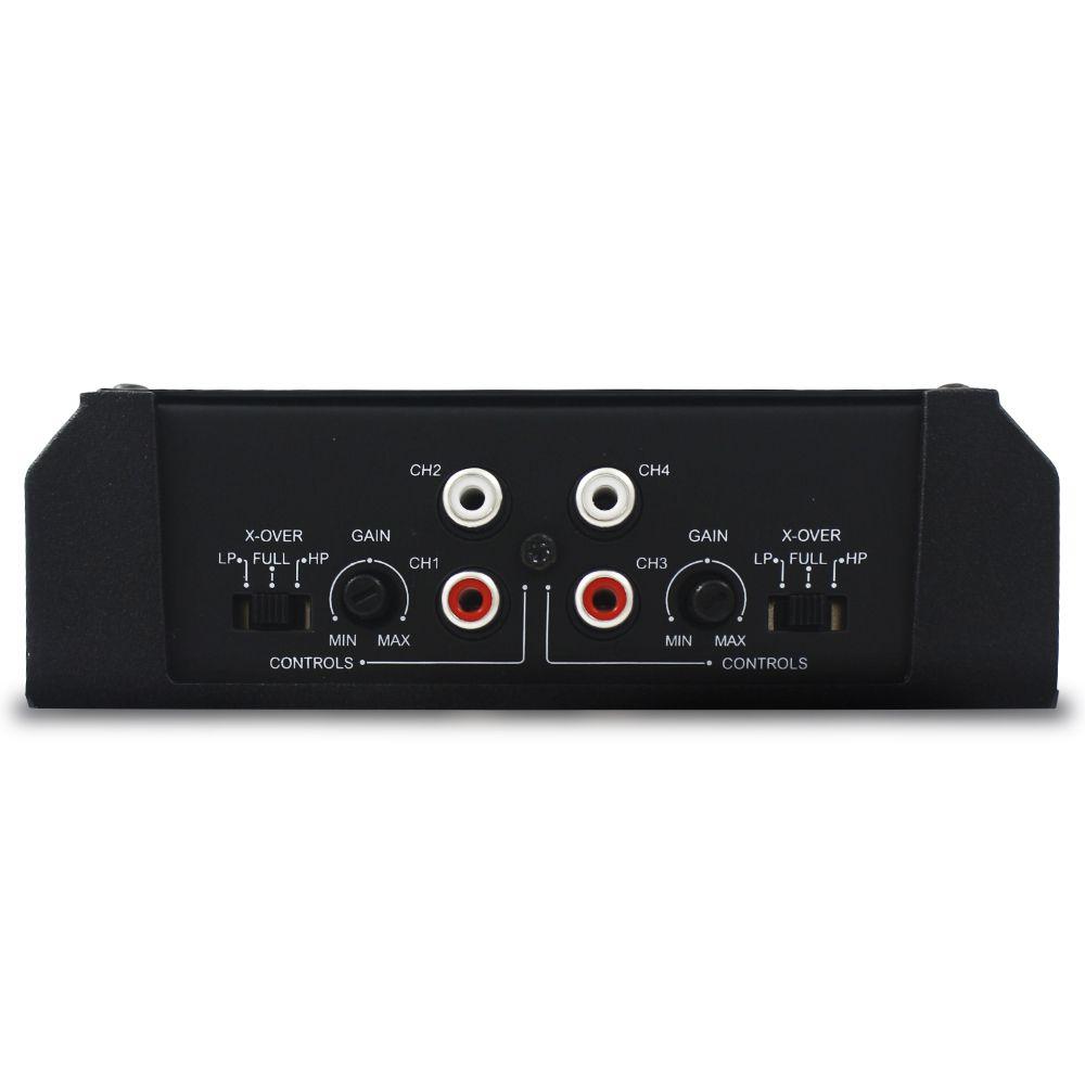 Modulo Amplificador Soundigital 800 Rms SD-800.4D Evo 2 Stereo Digital 4 Canais 1 Ohm 2 Ohms Classe D Crossover