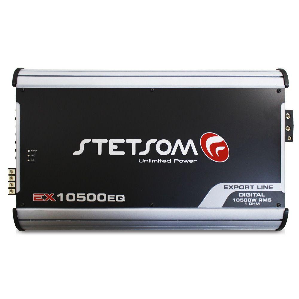 Modulo Amplificador Stetsom 10500 Rms EX-10500EQ Export Line Mono Digital 1 Canal 1 Ohm 2 Ohms Classe D