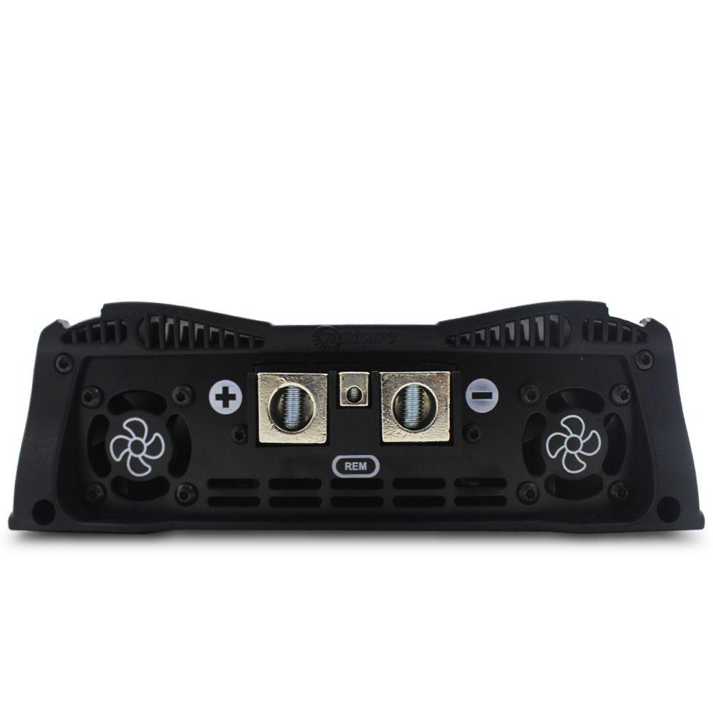Modulo Amplificador Taramps 10000 Rms HD-10000 Mono Digital 1 Canal 1 Ohm 2 Ohms Classe D Crossover Full Range
