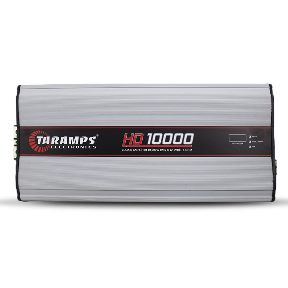 Modulo Amplificador Taramps 10000 Rms HD-10000 Mono Digital 1 Canal 1 Ohm 2 Ohms Classe D Crossover Full Range