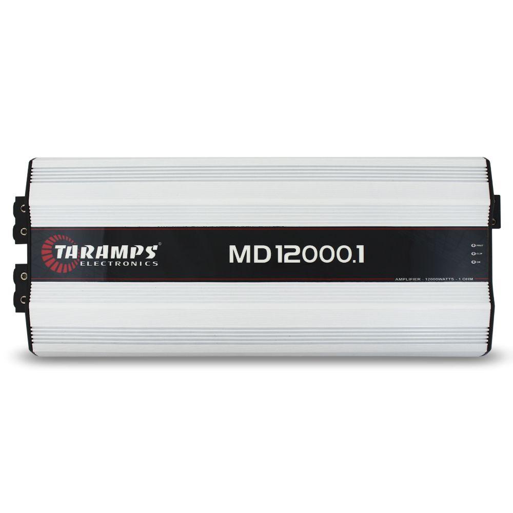 Modulo Amplificador Taramps 12000 Rms MD-12000.1 Mono Digital 1 Canal 1 Ohm Classe D Bass Boost Full Range