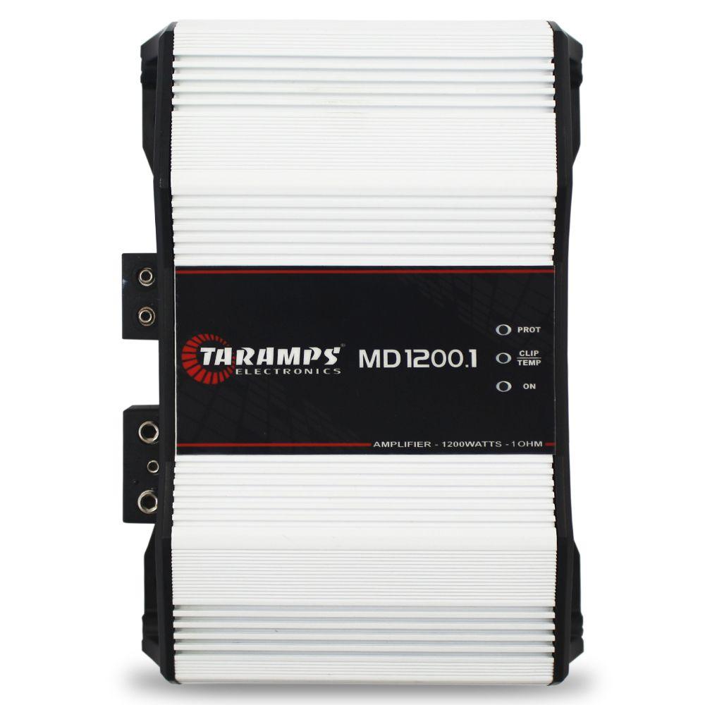 Modulo Amplificador Taramps 1200 Rms MD-1200.1 Mono Digital 1 Canal Modelos 1 Ohm 2 Ohms e 4 Ohms Full Range