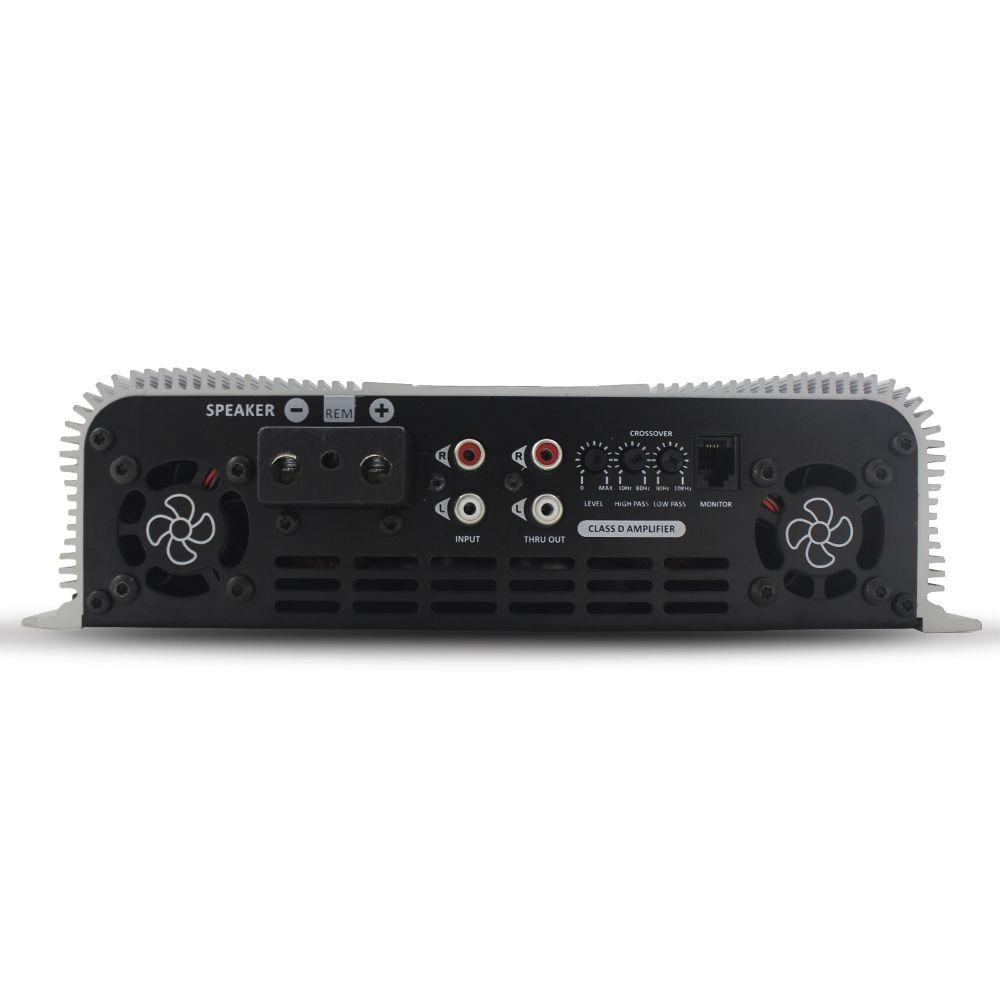 Modulo Amplificador Taramps 15000 Rms HD-15000 Mono Digital 1 Canal 1 Ohm 2 Ohms Classe D Bass Boost Crossover