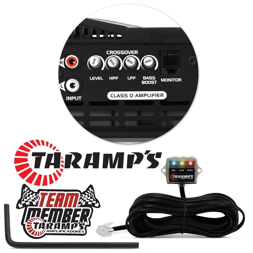 Modulo Amplificador Taramps Dsp 3000 1 Canal 3000 Rms 1 Ohms