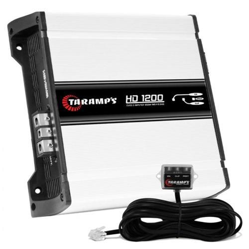 Modulo Amplificador Taramps 1 Canal Hd-1200 wrms 1 Ohms Digital
